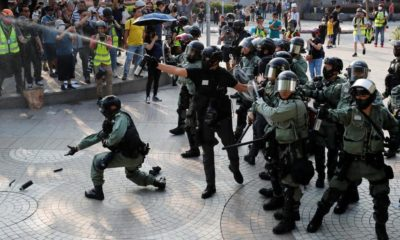 Recession hits Hong Kong as no end in sight for anti-government protests | The Thaiger
