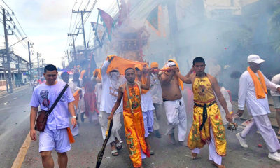 Mah Songs parade through Phuket Town exciting tourists and locals   The Thaiger