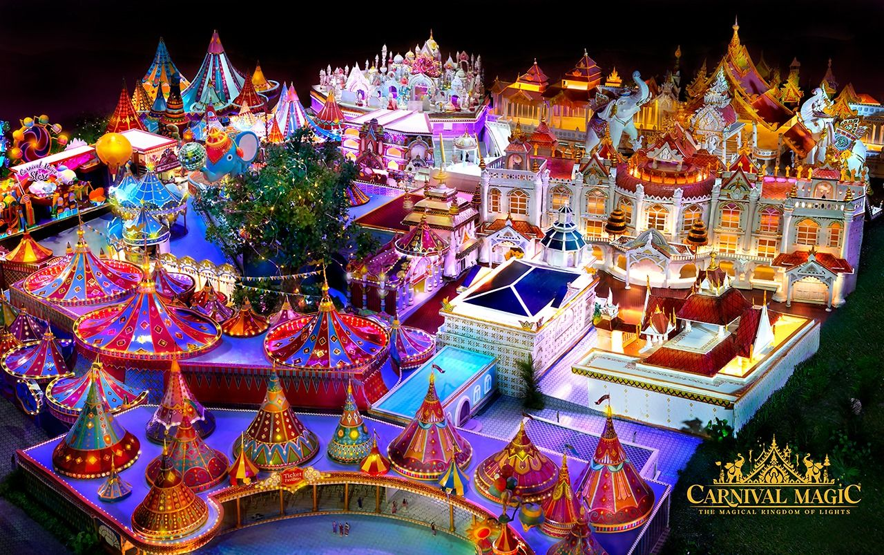 Phuket to get new tourist attraction theme park - Carnival Magic   News by Thaiger