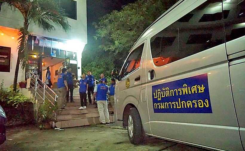Karaoke premises raided in central Thailand, 3 underage sex workers rescued