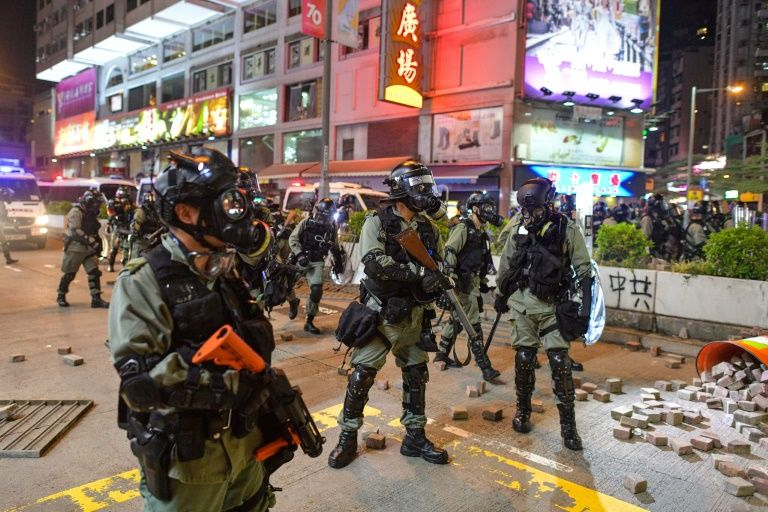 Hong Kong won't rule out accepting help from China over protests | News by Thaiger