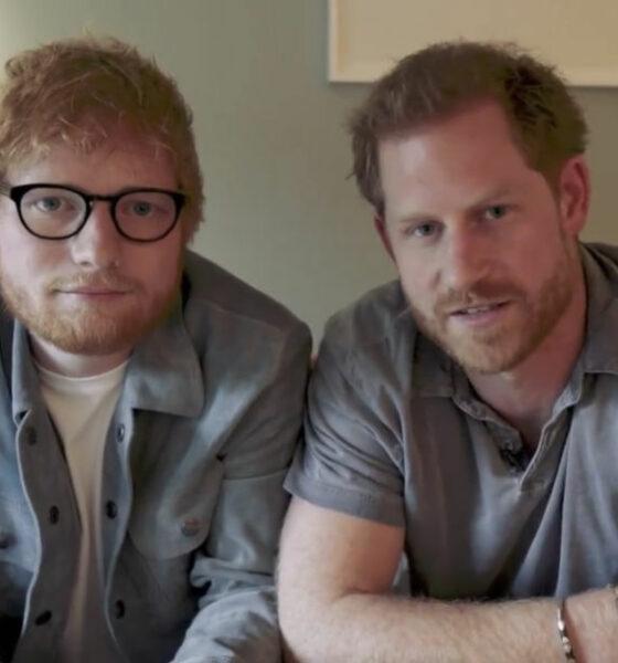 Image result for Ed Sheeran พบเจ้าชาย Harry ร่วมงานวัน สุขภาพจิตโลก