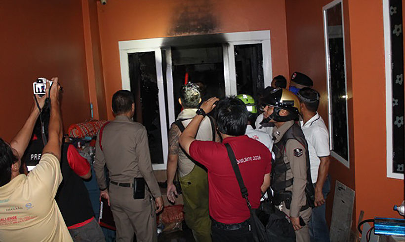 Fire in Phuket house kills two, injures two   News by Thaiger