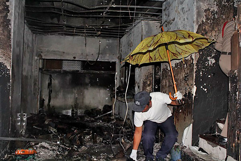 Fire in Phuket house kills two, injures two | The Thaiger