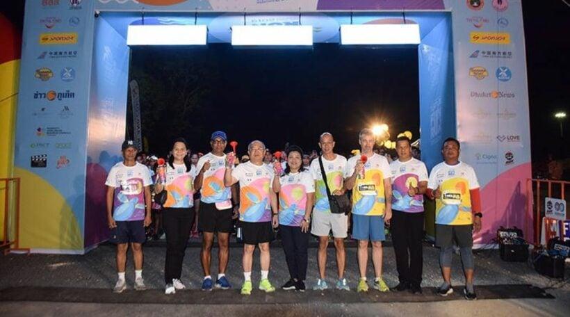 The 15th Mai Khao Marine Turtle fun run attracts more than 4,000 runners