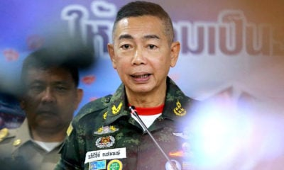 Thai Army chief will address sedition charges and solving problems in South | The Thaiger