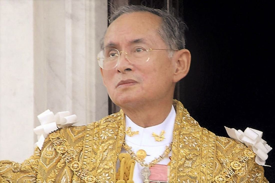 """King Bhumibol Adulyadej - in remembrance of the """"Father of Thailand"""" 