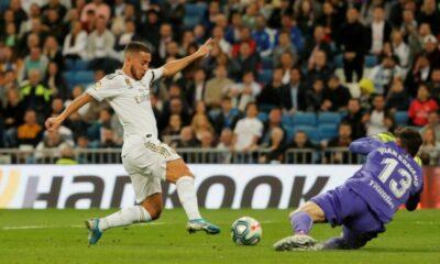 Real Madrid chiến thắng 5 sao, chỉ còn kém Barca 1 điểm | Thaiger