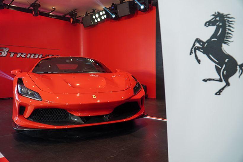TP.HCM đón showroom đầu tiên của Ferrari | News by Thaiger