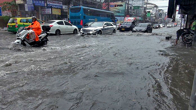 Pattaya storm water drainage still lacking | Thaiger
