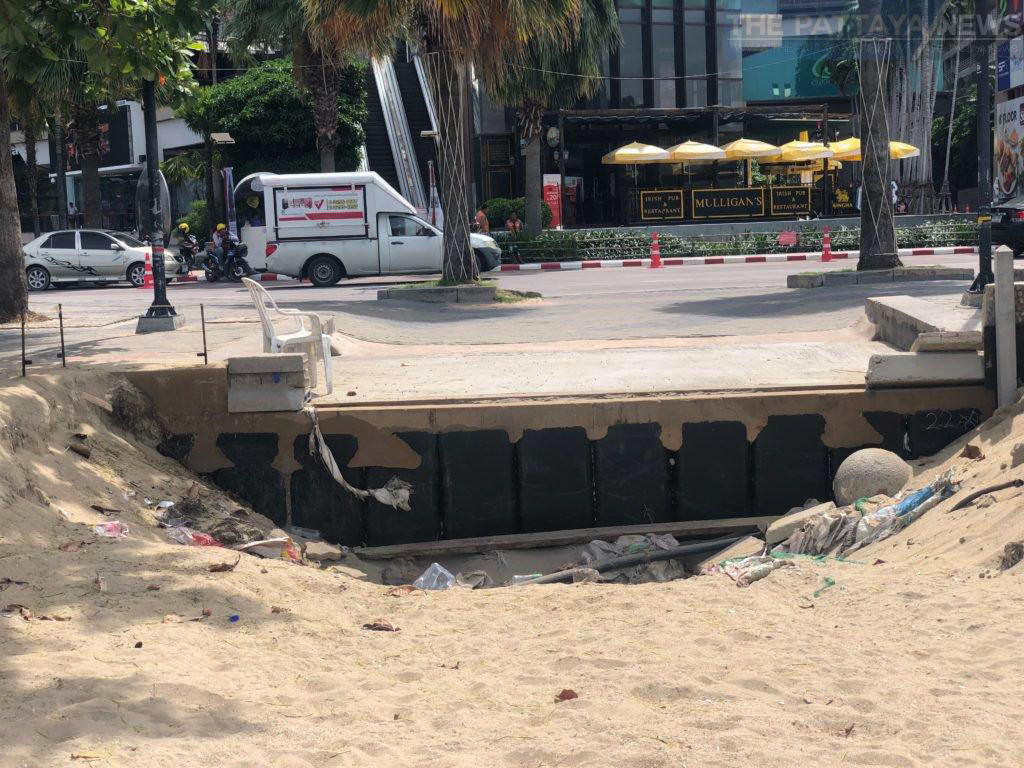 Local residents and vendors demand action on Pattaya Beach erosion | News by Thaiger