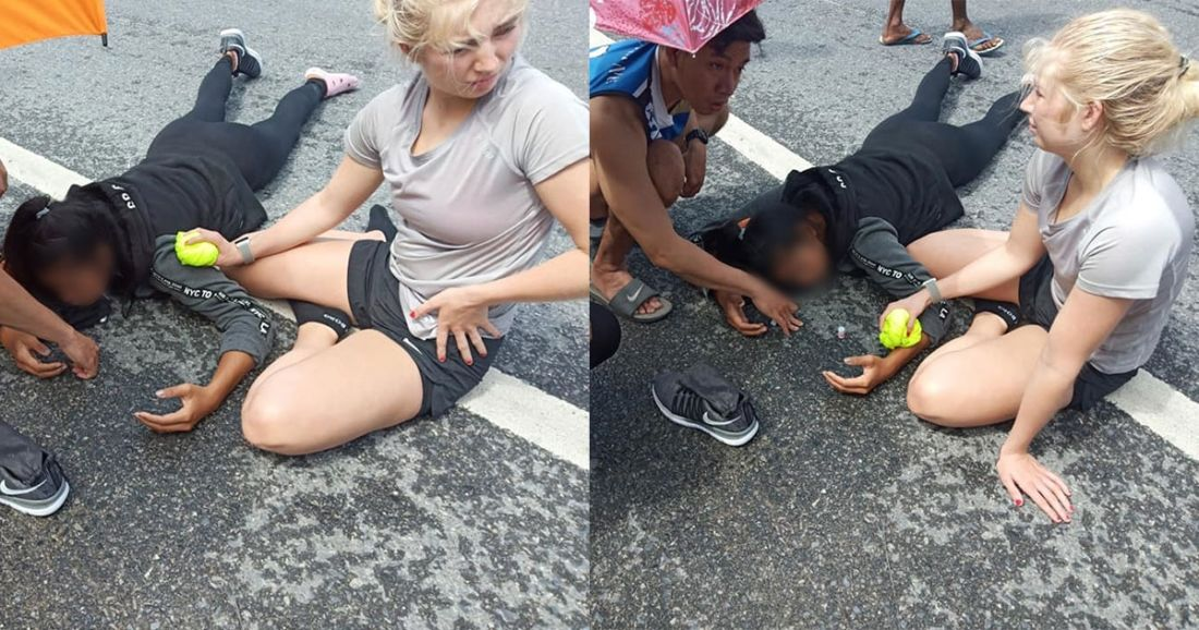 Netizens praise locals and westerner for helping injured on busy Phuket street | News by Thaiger
