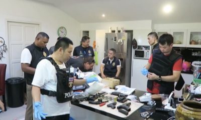 Two Aussies, Nigerian and Thai arrested with a kilogram of crystal meth – VIDEO | The Thaiger