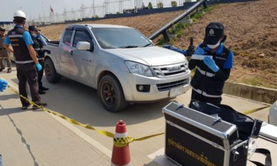 Pattaya fugitives' pick-up truck found, two people arrested | Thaiger