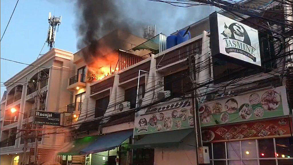 Mother and two year old escape Pattaya blaze   News by Thaiger