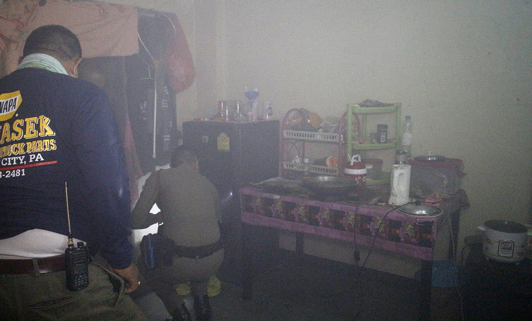 Major fire averted after resident leaves the chicken cooking in Pattaya   News by Thaiger