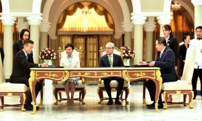 Thailand and Hong Kong sign five trade agreements | The Thaiger