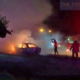 Lucky escape for Chonburi family as car bursts into flames | The Thaiger