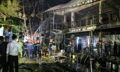 Buôn Ma Thuột: Quán bar bị lửa thiêu rụi hoàn toàn   The Thaiger