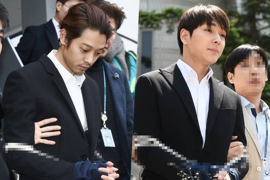 Two K Pop Stars Sentenced To Prison For Sexual Assault Filming It And Sharing It