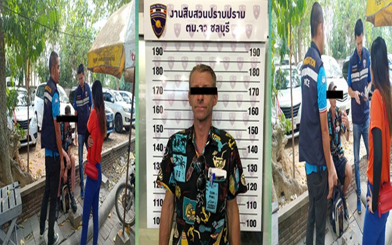German busted for 5 day overstay in Pattaya | The Thaiger