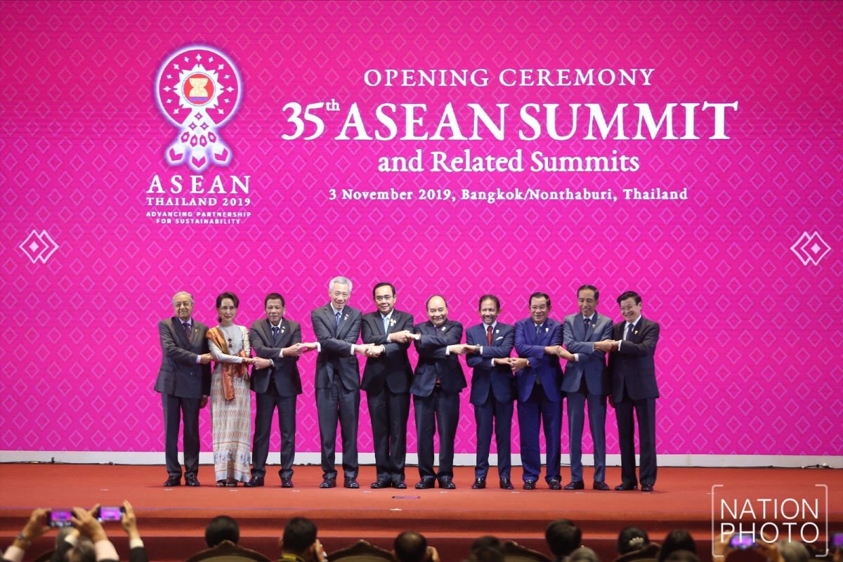 Thai PM opens ASEAN Summit in Bangkok amid world economic tensions | News by Thaiger