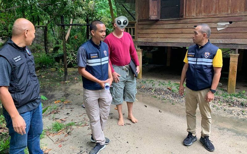 Swiss man nabbed on Koh Phangan, overstayed visa by more than four years   Thaiger