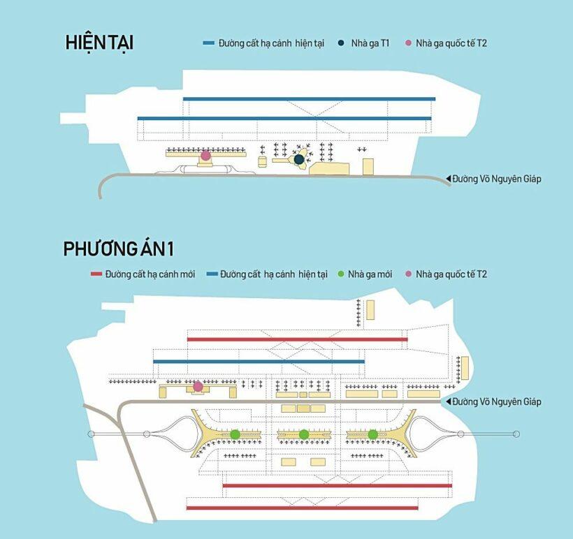 Dự án mở rộng sân bay Nội Bài: Đề xuất 7 phương án   News by Thaiger