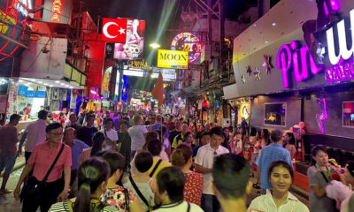 """Pattaya's Walking Street is """"heaving with tourists"""". But…   Thaiger"""