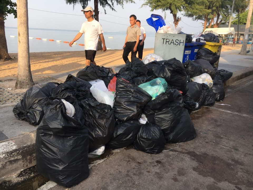 """Pattaya's a rubbish infested dump"" – Mayor swings into action"