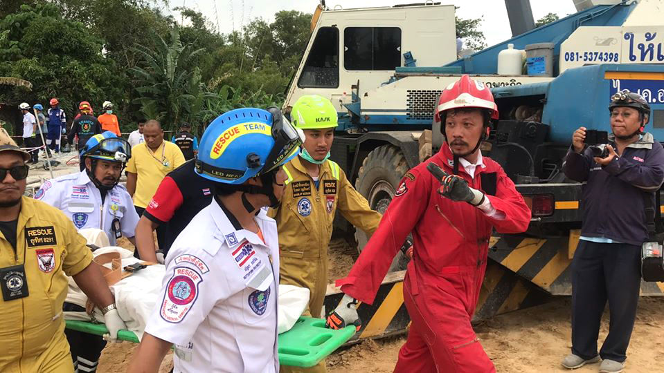 UPDATE: Police investigate building collapse in Phuket, killing seven | News by Thaiger