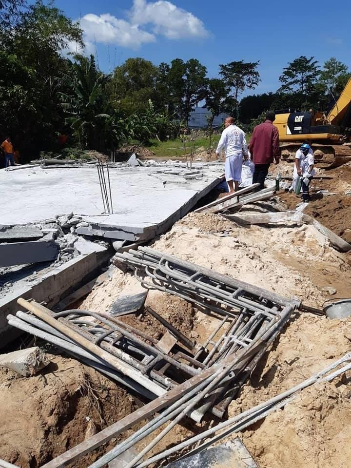 Construction site collapse, kills 7, injures at least 2 in Phuket | News by Thaiger