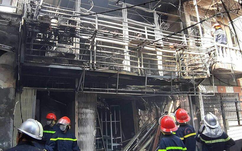 Hà Nội: Cháy lớn do nổ bình gas | News by Thaiger