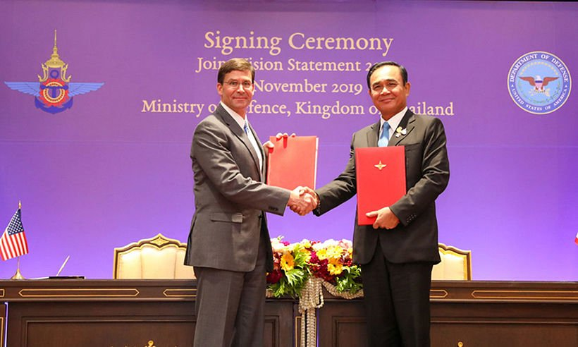 Thailand and the US sign new defence treaty | Thaiger