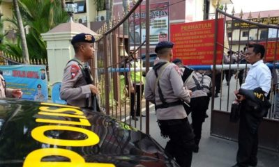 Indonesian suicide bomber wounds six, dozens arrested in Sumatra   Thaiger