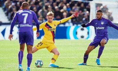 Highlight trận đấu Leganes vs Barcelona: Nghẹt thở VAR, ngược dòng phút 79 | Thaiger