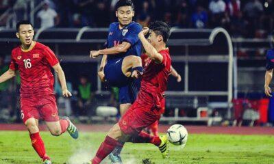 ĐT Việt Nam tằng tằng leo hạng trên Bảng xếp hạng FIFA, lọt top 15 châu Á | The Thaiger