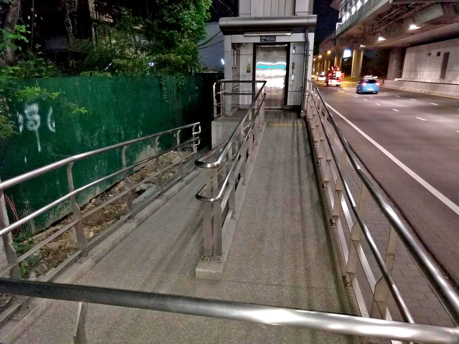 BMA adds pedestrian walkways and better disabled access | News by Thaiger
