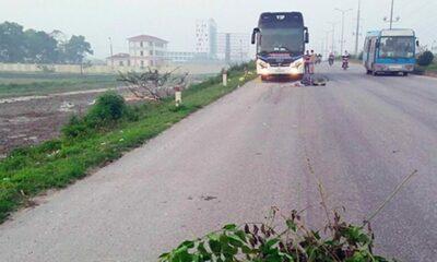 Thanh Hóa: Hai bố con bị xe khách đâm tử vong | Thaiger