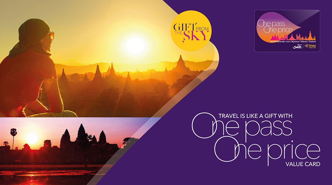Thai Airways offers One Pass One Price Value Card