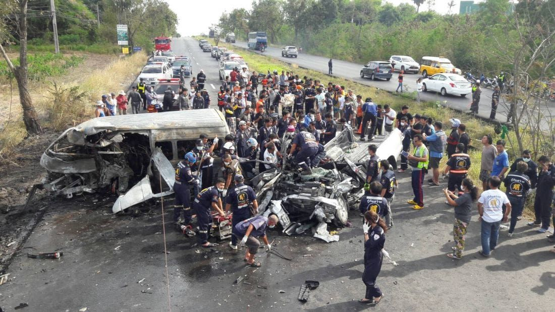 Thailand's road carnage is getting worse