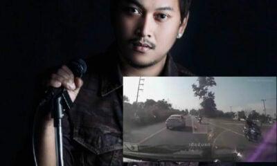 รถกระบะพุ่งชนบิ๊กไบค์ นักร้องนำวง FEEL เสียชีวิต เปิดโพสต์สุดท้าย | The Thaiger