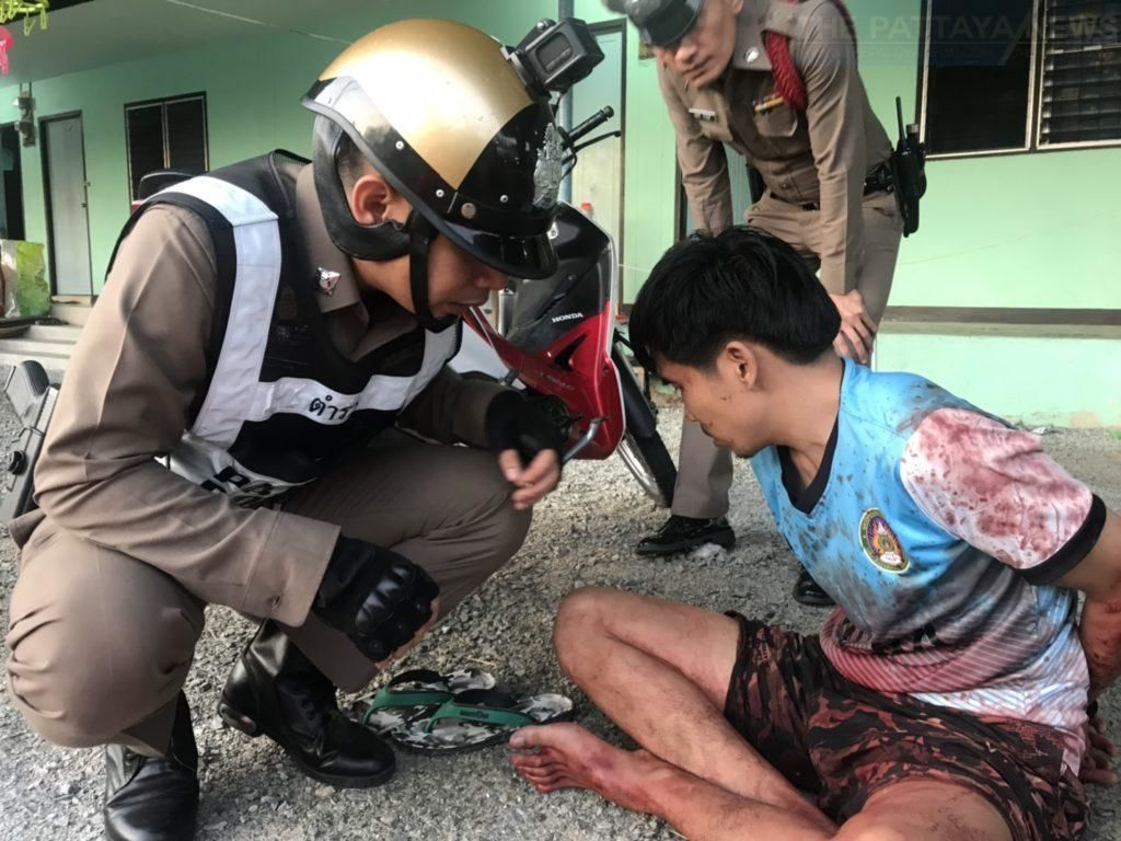 Chonburi man high on drugs stabs friend to death with a sword | News by Thaiger