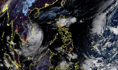 'Nakri' now upgraded to typhoon as it approaches Vietnam's coast | Thaiger