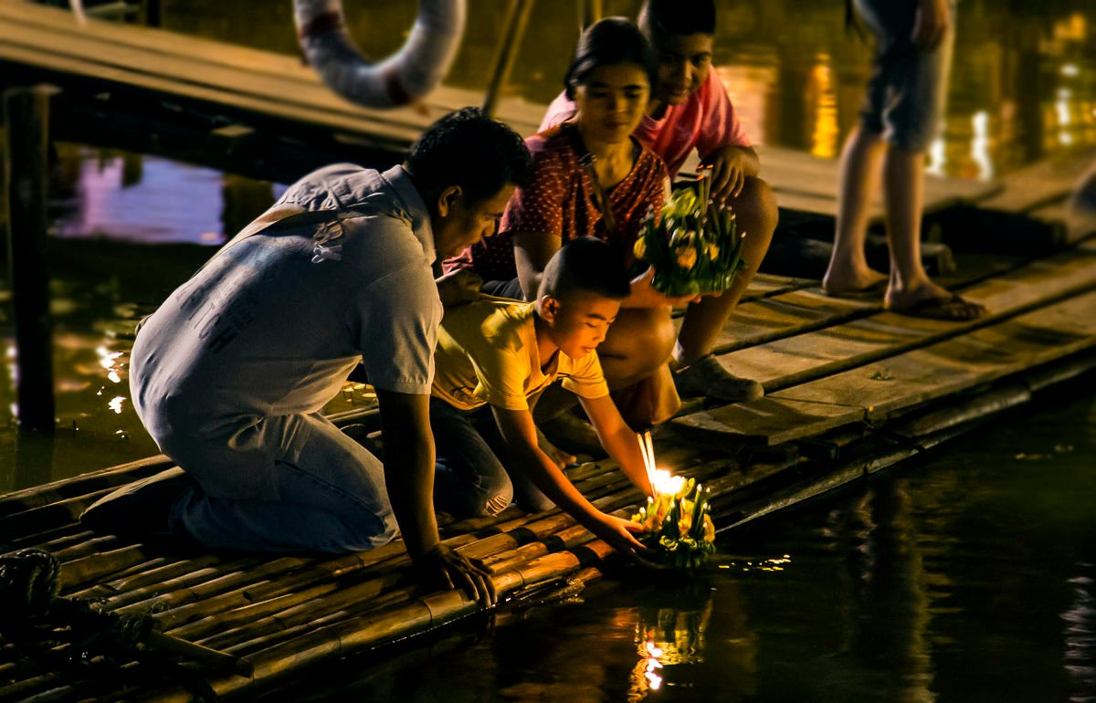 Bangkok locations for Loy Krathong - float away the woes of 2020   News by Thaiger