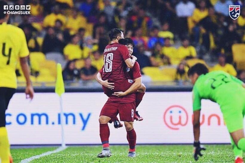 Highlight trận đấu Malaysia vs. Thái Lan: Chơi hết mình gặt hái thành quả | News by Thaiger