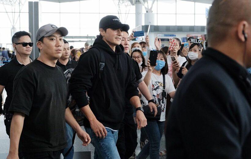 Tài tử Jang Dong Gun đi dạo ở Hà Nội trước khi lên đường về Hàn Quốc | News by Thaiger
