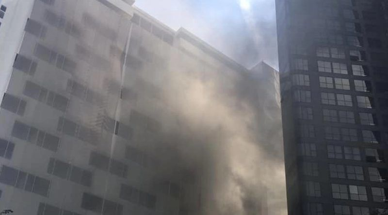 Police investigating fire at hotel in Silom, Bangkok | News by Thaiger