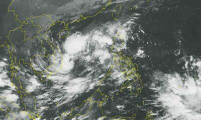 Xuất hiện vùng áp thấp trên Biển Đông, mưa bão sẽ kéo dài cả tuần | Thaiger