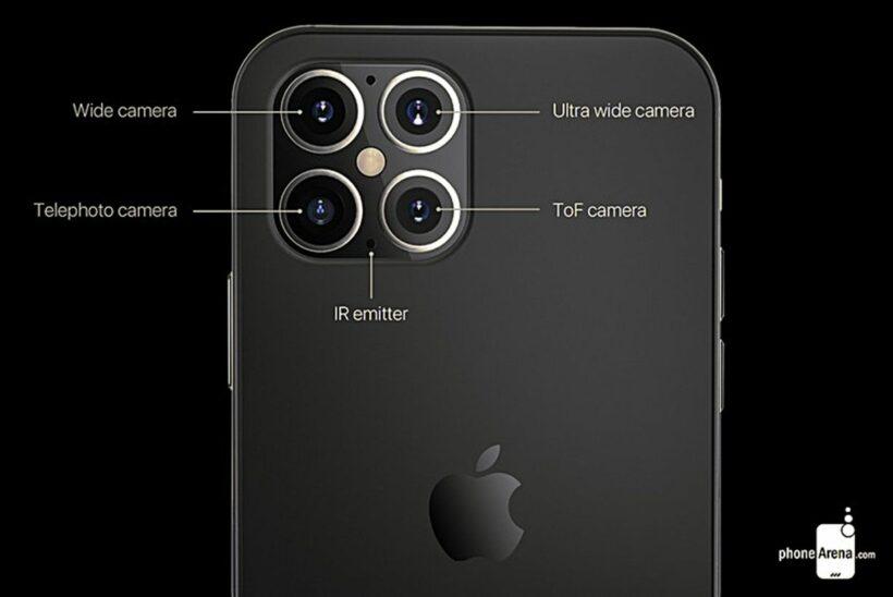 Rò rỉ thiết kế mới của iPhone 12 | News by Thaiger